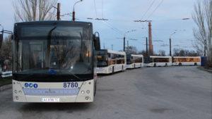 Жителі Запоріжжя зможуть відслідковувати рух громадського транспорту у новому додатку