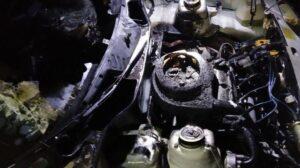В Пологівському районі з невідомих причин загорілася машина, — ФОТО