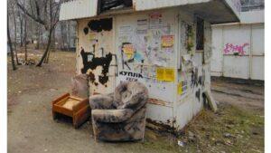 В Запоріжжі власники МАФів після зауваження від інспекції з благоустрою прибрали сміття, — ФОТО