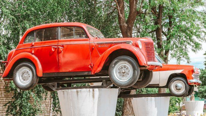 В селі на Запоріжжі замість декомунізованих пам'ятників зробили музей під відкритим небом, — ФОТО