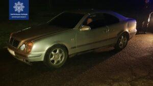 В Запорожье полиция остановила Mercedes с поддельным номером кузова, – ФОТО