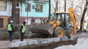 У Запоріжжі продовжили реконструкцію біля Алеї троянд, – ФОТО