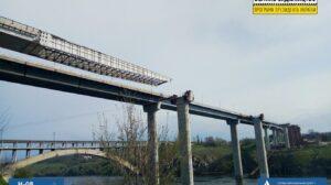 У Запоріжжі активно продовжується будівництво мосту між Хортицею та Бабуркою: що вже зроблено, – ФОТОРЕПОРТАЖ