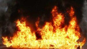 У Запоріжжі пожежа в будинку забрала життя чоловіка