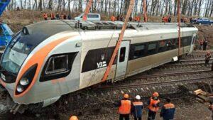 Через аварію потяга Київ-Запоріжжя в