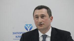 Министр развития территорий раскритиковал темпы реконструкции в Запорожской областной больнице