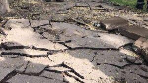 У Запоріжжі розпочали ремонт тротуару у центрі міста, – ФОТО