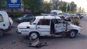У Запоріжжі Renault протаранив ВАЗ, – ФОТО
