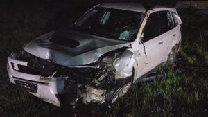 В Запорожье пьяный охранник похитил служебный автомобиль и устроил ДТП, – ФОТО