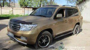 В Запорожской области нарушитель на авто пытался наехать на полицейских, – ФОТО