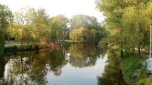 В популярном запорожском парке в реке обнаружили труп мужчины