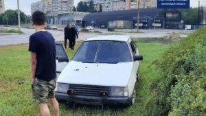 У Запоріжжі на Набережній п'яний водій влаштував ДТП, – ФОТО