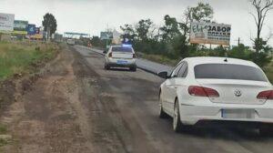 В Запорожской области полиция полчаса не могла догнать 19-летнего парня без водительского удостоверения, – ФОТО
