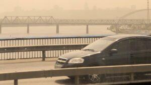 Киев на фоне аномальной жары окутал смог: загрязнение воздуха увеличилось в два раза