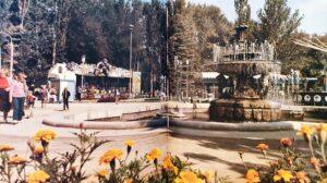 Работающий фонтан и прогулки на лодках: как раньше выглядел главный парк Запорожья, — ФОТО