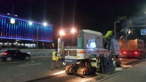 У Запоріжжі розпочали ремонт дороги на проспекті Соборному, – ФОТО