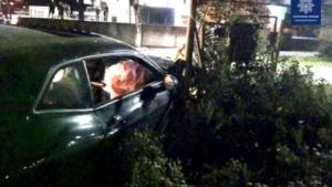 В Запорожье на Бабурке водитель Dodge Challenger устроил ДТП, – ВИДЕО