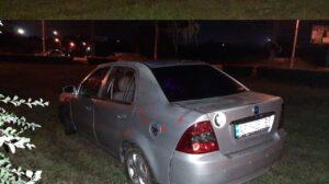 В Запорожье водитель под «кайфом» влетел в клумбу