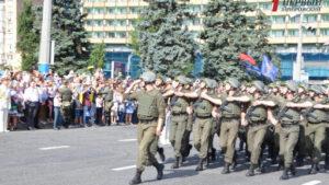На главном проспекте Запорожья проведут военный парад
