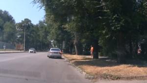 У Запоріжжі водій під «кайфом» тікав від патрульних, - ВІДЕО