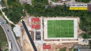 У Запоріжжі на Хортиці до Дня незалежності будують новий стадіон, – ФОТО
