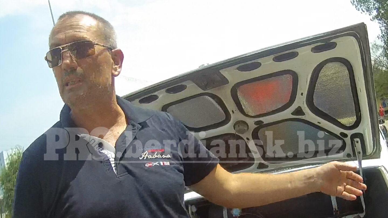 На запорізькому курорті водій «під кайфом» просив патрульних позичити йому грошей