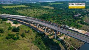 В Запорожье заканчивают строительство балочного моста между Хортицей и Бабуркой, – ФОТОРЕПОРТАЖ