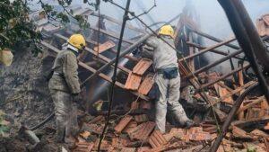 У Токмаку в будинку вибухнув газовий балон: постраждалий отримав 65% опіків тіла
