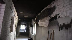 Стало відомо, як виглядає відділення Запорізької обласної інфекційної лікарні, де сталася смертельна пожежа, – ФОТОРЕПОРТАЖ