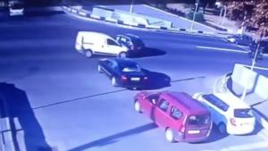 В Запорожье на Правом водитель пытался проскочить перекресток и устроил ДТП, – ВИДЕО