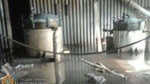 В Запорожской области произошел пожар на маслобойне, - ФОТО