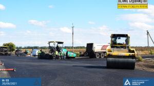 Ремонт траси Запоріжжя-Донецьк виходить на фінішну пряму, - ФОТО