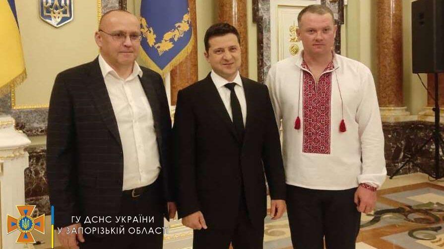 Житель Запорожской области стал лауреатом Всеукраинской акции «Герой-спасатель года»