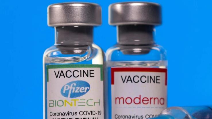Вакцини Moderna і Pfizer можна безпечно і ефективно комбінувати - МОЗ