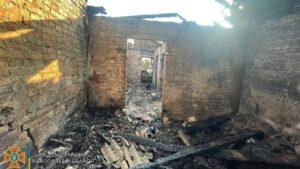 В Мелітопольському районі пожежа забрала життя літнього чоловіка