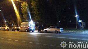 У Запорізькій області водій легковика збив військовослужбовця, - ФОТО