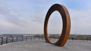 У Запоріжжі на Хортиці з'явився новий сучасний арт-об'єкт – «Коло Єдності», – ФОТОРЕПОРТАЖ