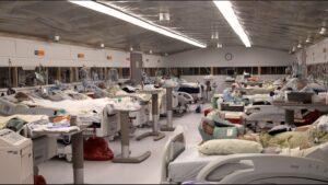 В Запорожье развернули 500 дополнительных коек для лечения больных COVID-19