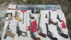Житель Запорожской области изготавливал у себя дома оружие, - ФОТО