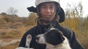 В Запорожской области бойцы ГСЧС спасли собаку, которая упала в яму, – ФОТО