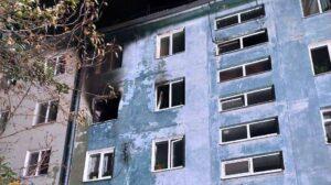 В Запорожье во время пожара погибла пенсионерка, – ФОТО
