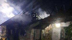 Под Запорожьем в результате пожара погиб мужчина