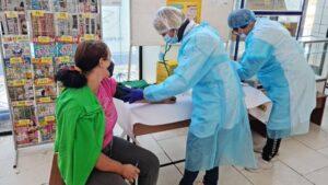 У відділеннях «Укрпошти» Запорізької області почали вакцинувати пенсіонерів, - ФОТО
