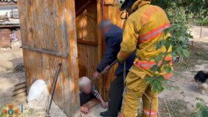 У Запорізькій області жінка впала у вигрібну яму